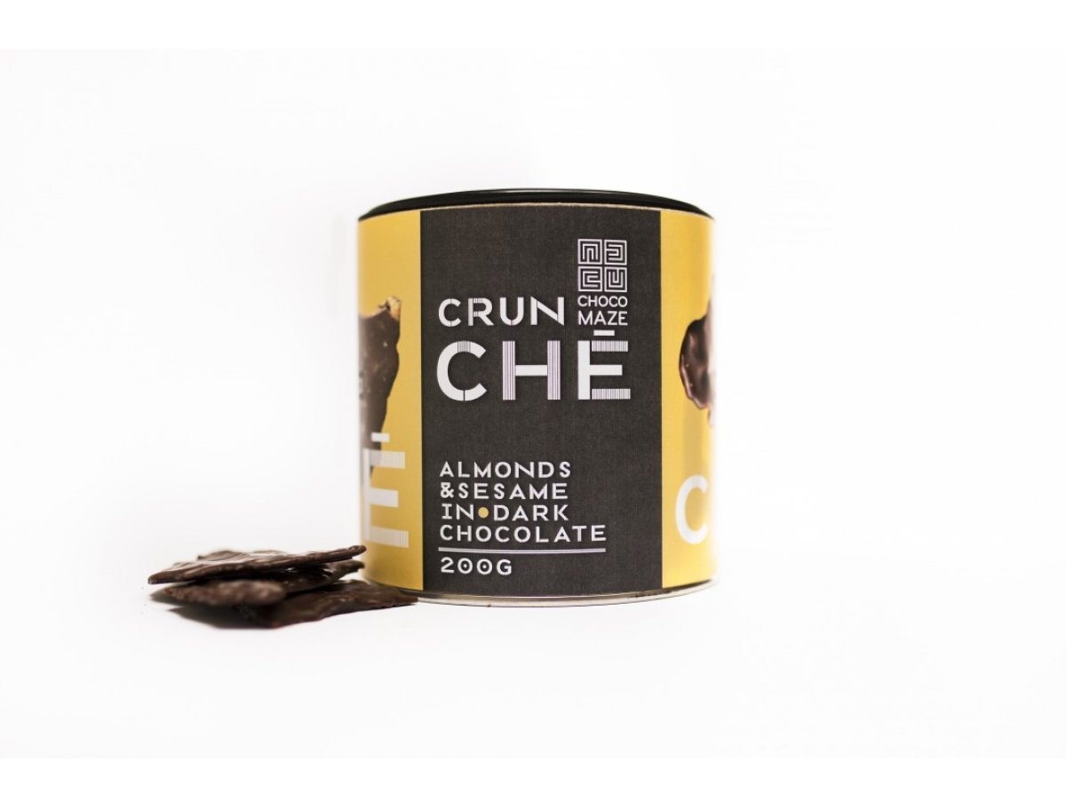 CRUNCHÉ - mandle, sezam