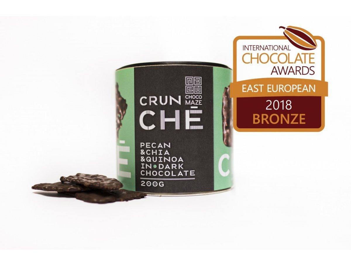 CRUNCHÉ - pekan, chia, quinoa, kokos